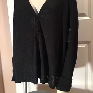 Victoria's Secret Long Sleeve V Neck